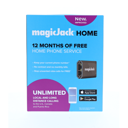 NEW magicJack Home Unlimited Local and Long Distance (Voip Internet Calling)