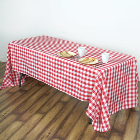 Balsacircle 60 Quot X 102 Quot Gingham Checkered Polyester