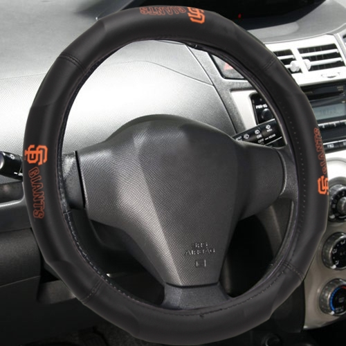 "MLB San Francisco Giants Steering Wheel Cover (Made to fit 14.5""-15.5"" steering wheels"