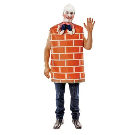 Adult Humpty Dumpty Fancy Adult Costume, Standard - Humpty Dumpty Costume Baby