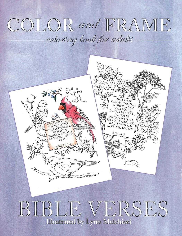 - Color And Frame: Bible Verses (Paperback) - Walmart.com - Walmart.com