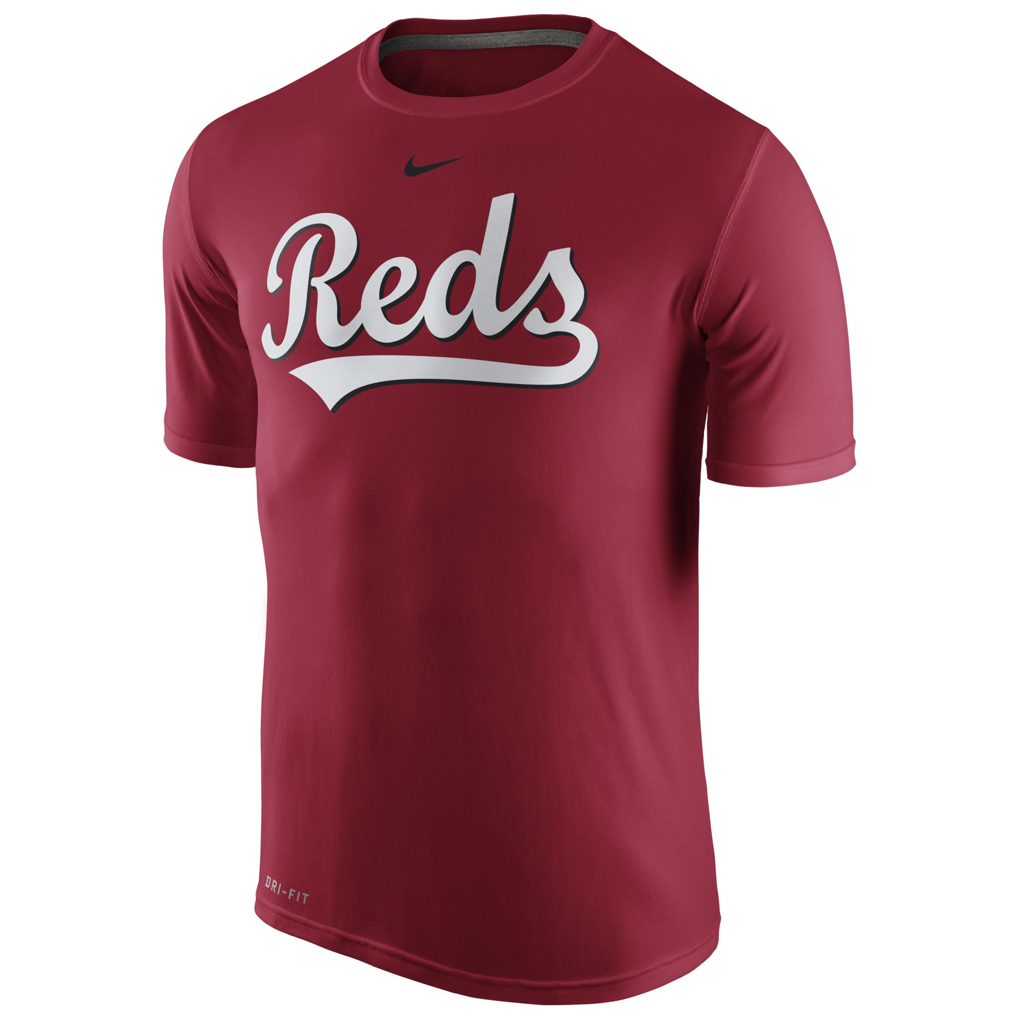 Men's Nike Red Cincinnati Reds Legend Wordmark 1.5 Performance T-Shirt