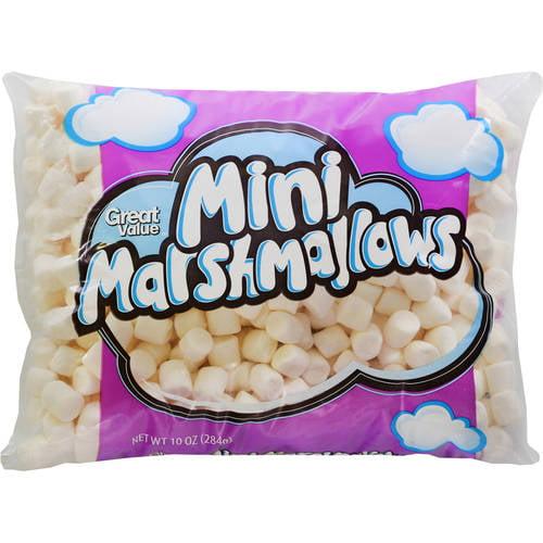 (5 Pack) Great Value Mini Marshmallows, 10 oz
