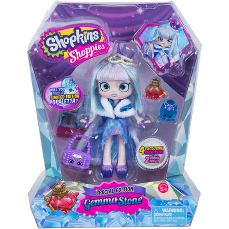 Limited Edition   Shopkins Shoppies Gemma Stone