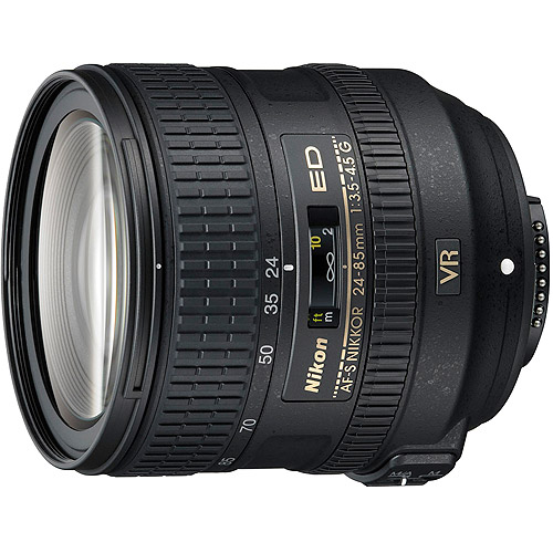 Nikon AF-S NIKKOR 24-85mm f/3.5-29 Medium Telephoto Lens