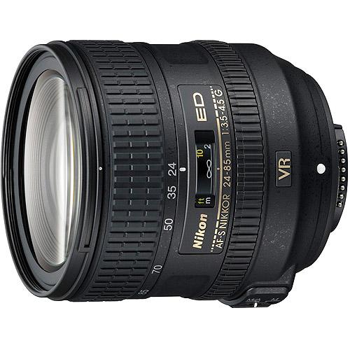 Nikon AF-S NIKKOR 24-85mm f/3.5-29 Medium Telephoto Lens