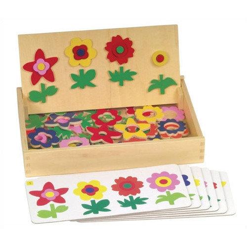 Guidecraft Flower Match Garden Patch