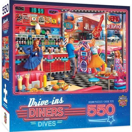 MasterPieces Drive-Ins, Diners & Dives - Good Times Diner 550 Piece