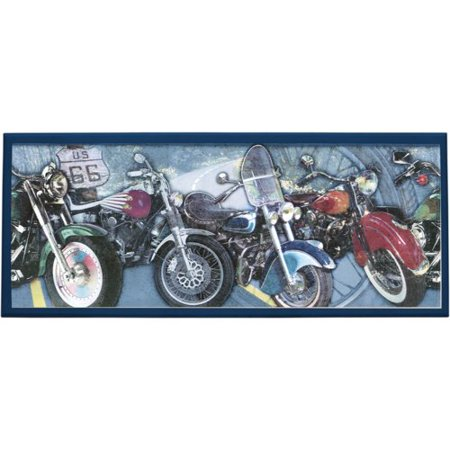Illumalite designs motorcycle painting print on plaque for How much to paint a motorcycle