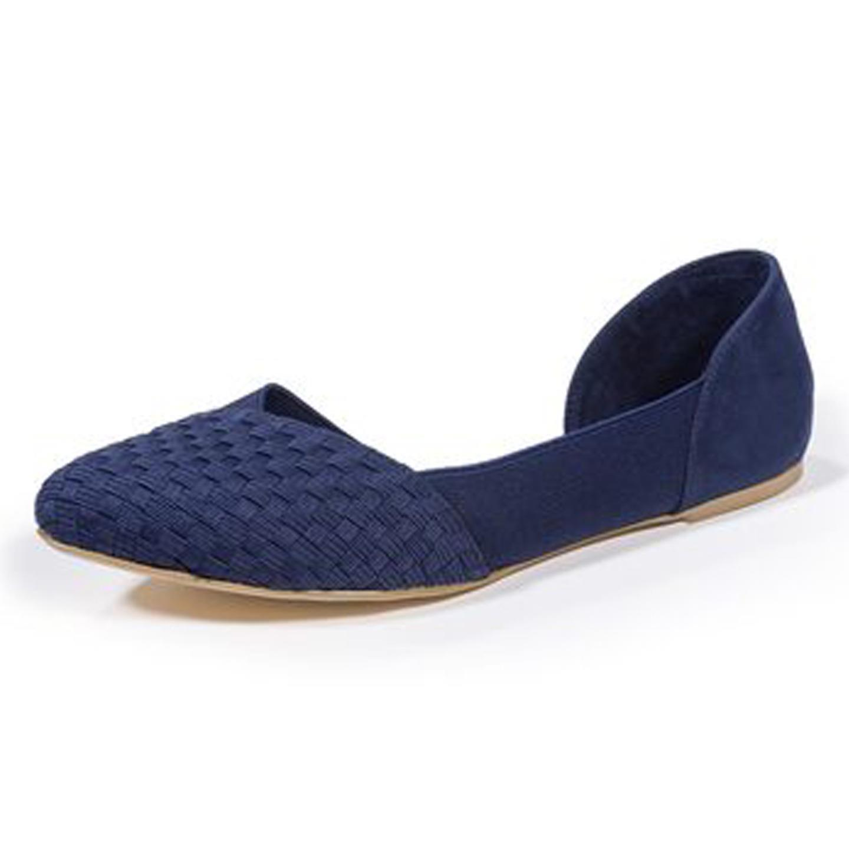 Zee Alexis Womens Norah Shoes Navy 7.5 M