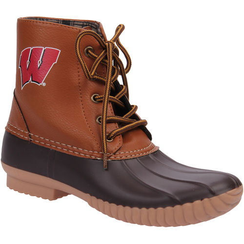 NCAA Women's Wisconsin -High Duck Boot by GERNERIC