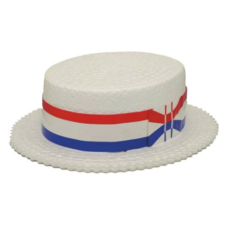 Jacobson Hat Company Full Size Foam Skimmer (White) ()