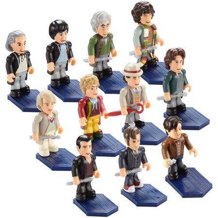 Doctor Who�: Micro-Figure - Character Building: The Eleven Doctors Micro-Figure Set