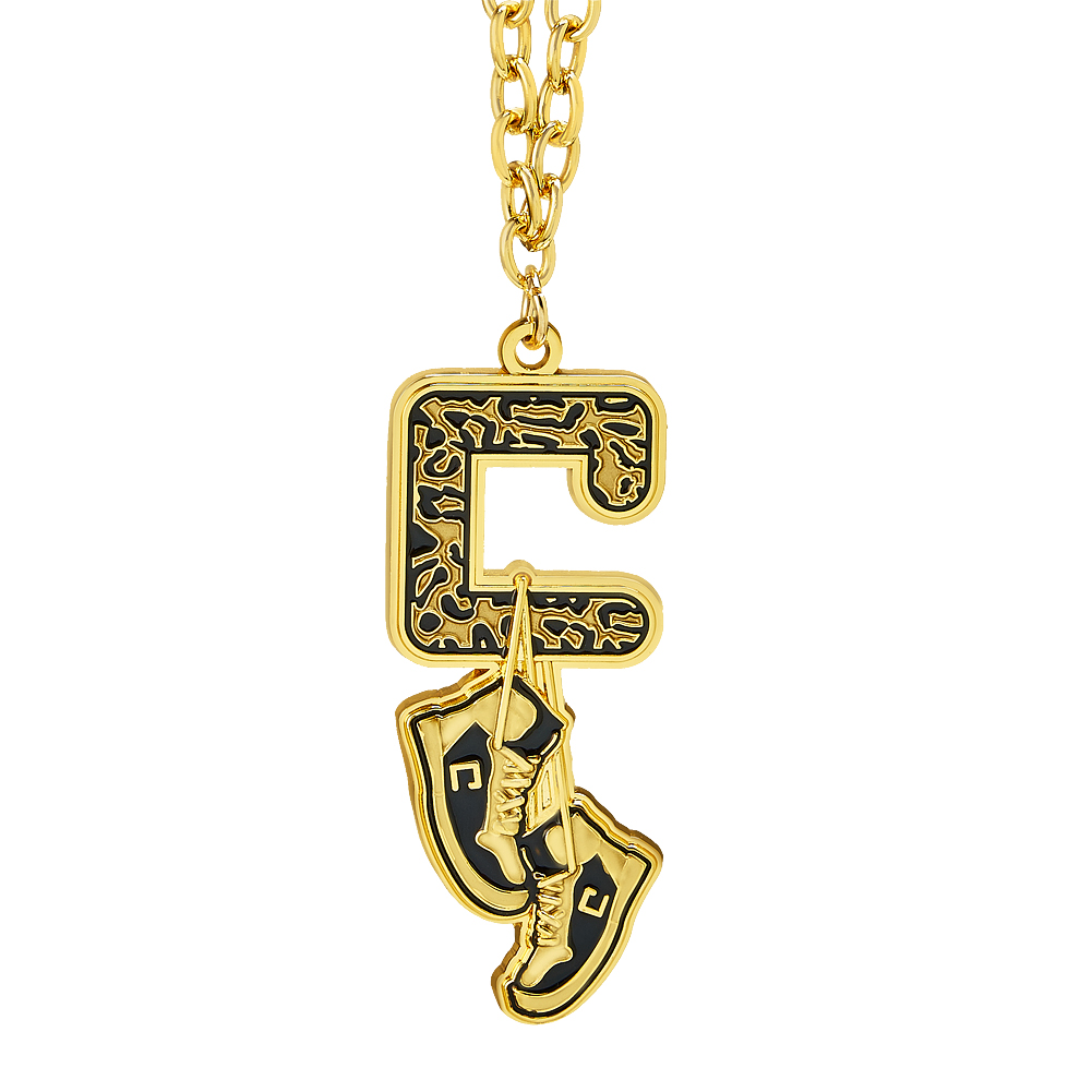 Official Wwe Authentic Carmella Gold Pendant