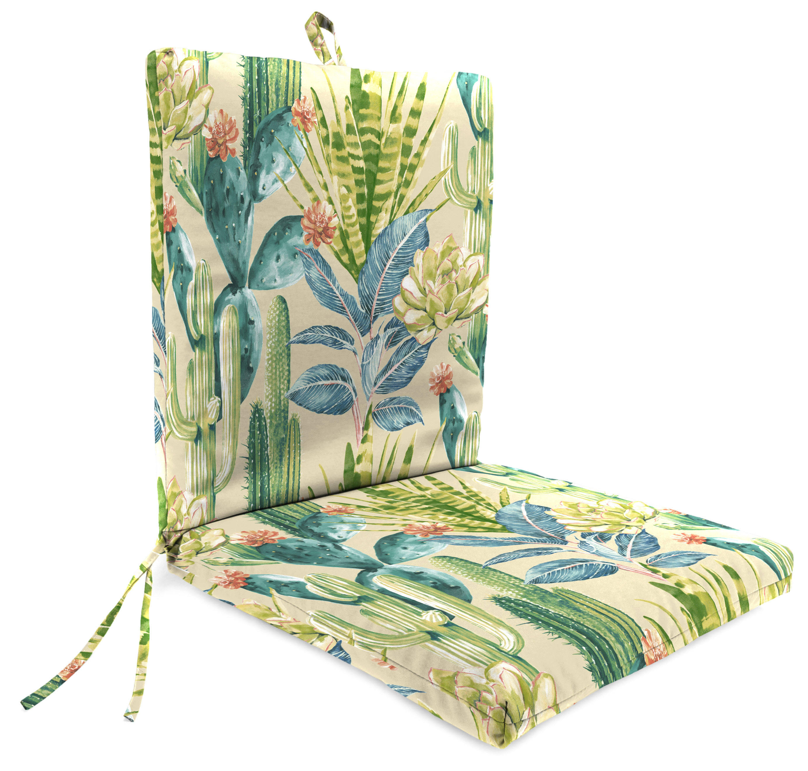 "Outdoor 21"" x 44"" x 3.5"" Chair Cushion"