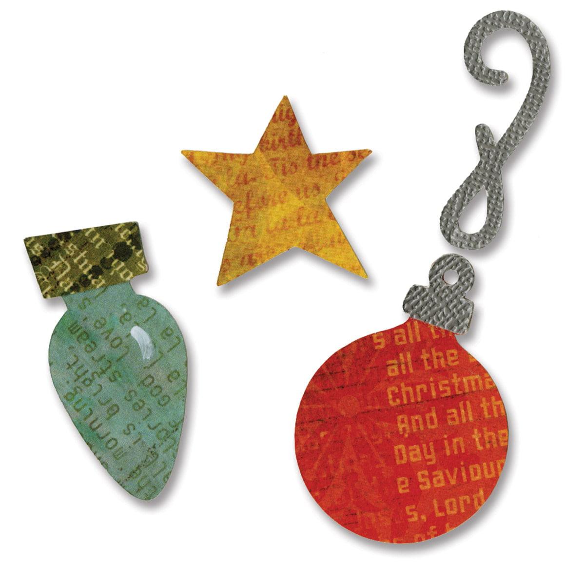 Sizzix  Sizzlits Ornaments Die Set