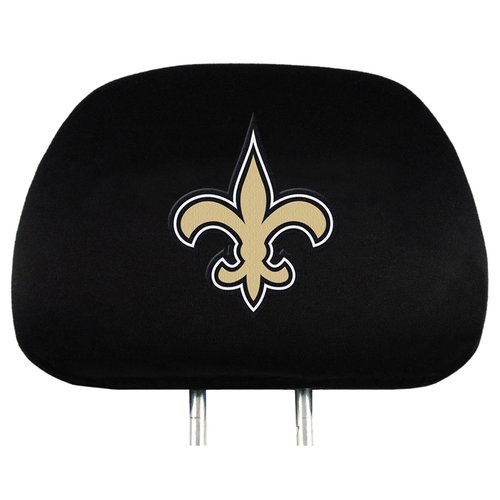New Orleans Saints NFL Head Rest Cover