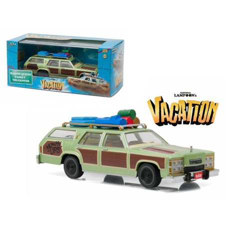 "1979 Family Truckster ""Wagon Queen"" Honky Lips Version ""National Lampoon's Vacation"" Movie (1983) 1/43 Diecast Model Car by Greenlight"