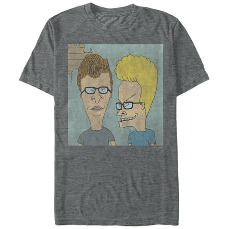 Beavis and Butt-Head Men's Nerd Glasses - Nerd Shirts For Halloween