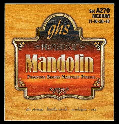 GHS A270 Phosphor Bronze Medium Mandolin Strings by GHS
