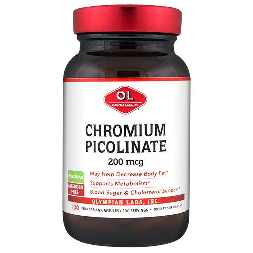 Olympian Labs-Chromium Picolinate Chromax, 200mcg, 100ct
