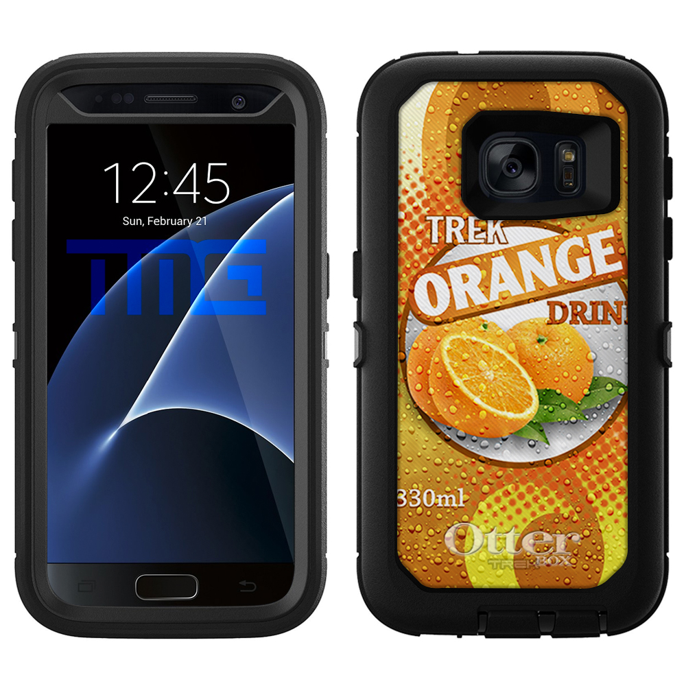 OtterBox Defender Samsung Galaxy S7 Case - Soda Can Orang...