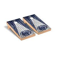 Penn State Nittany Lions 2' x 4' Weathered Triangle Cornhole Board Set