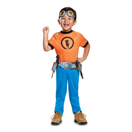 Rusty Rivets Costume Toddler Boys Nick Jr. 79676 Size - Nick Costumes