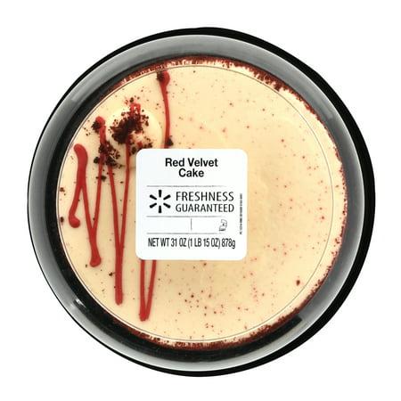 Freshness Guaranteed Red Velvet Cake 31 Oz