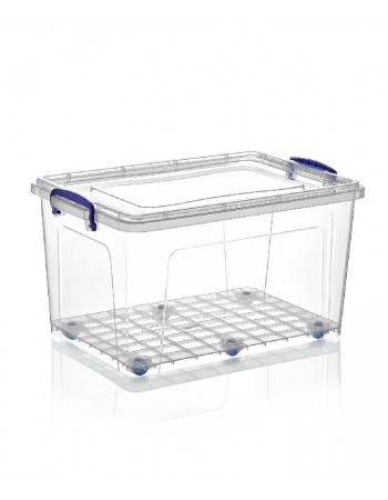 Delicieux Superio Deep Storage Container With Wheels (44 Qt.)