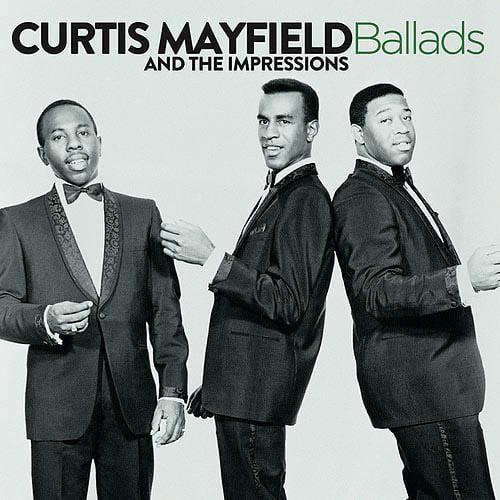 BALLADS [THE IMPRESSIONS] [CD] [1 DISC]