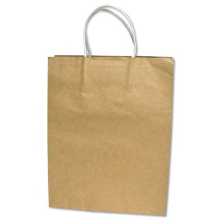 COSCO Premium Shopping Bag, Brown Kraft, 12
