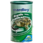 Wardley Reptile Sticks Floating Food 14.5 Ounce