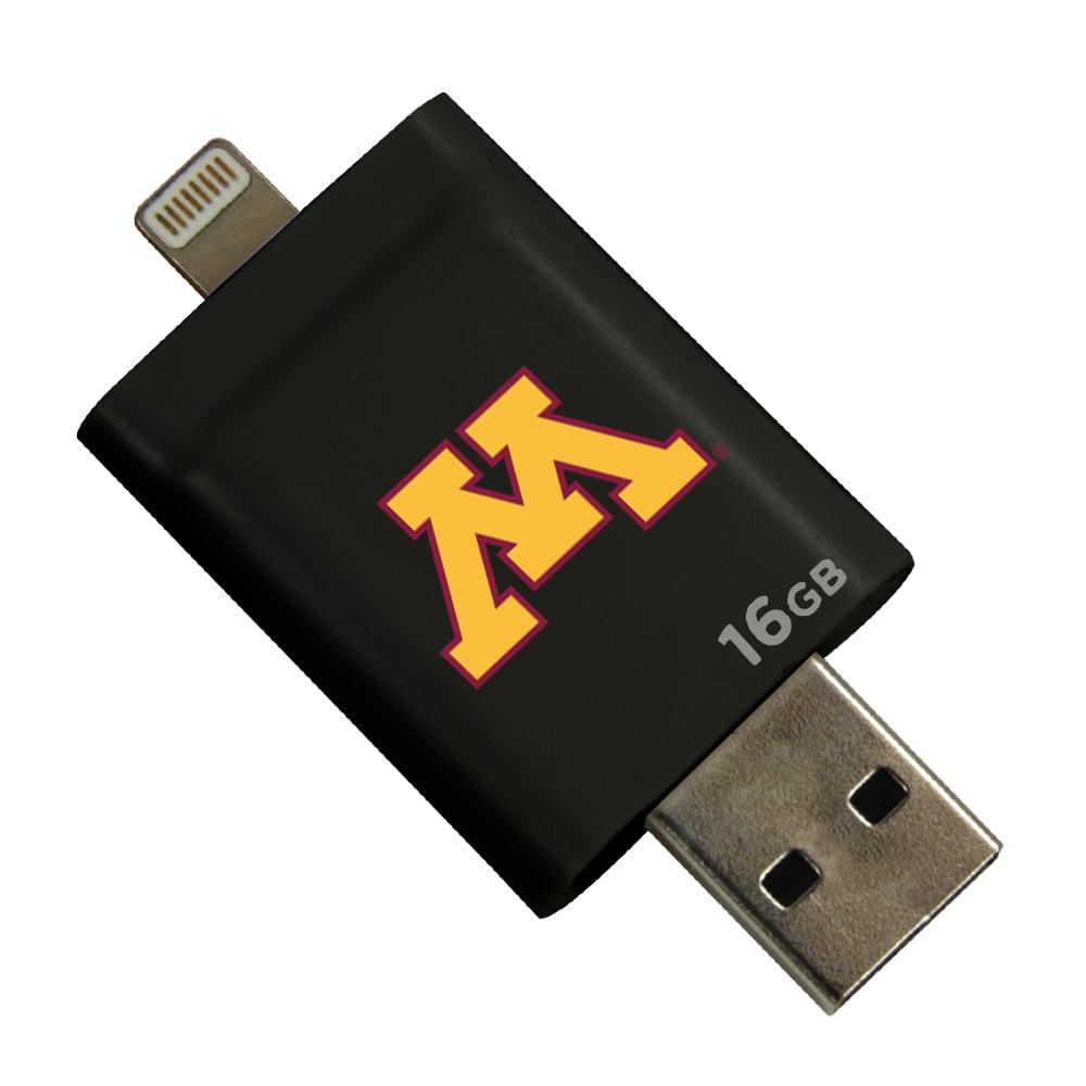 Minnesota Golden Gophers i-FlashDrive HD USB Drive 16GB - Black