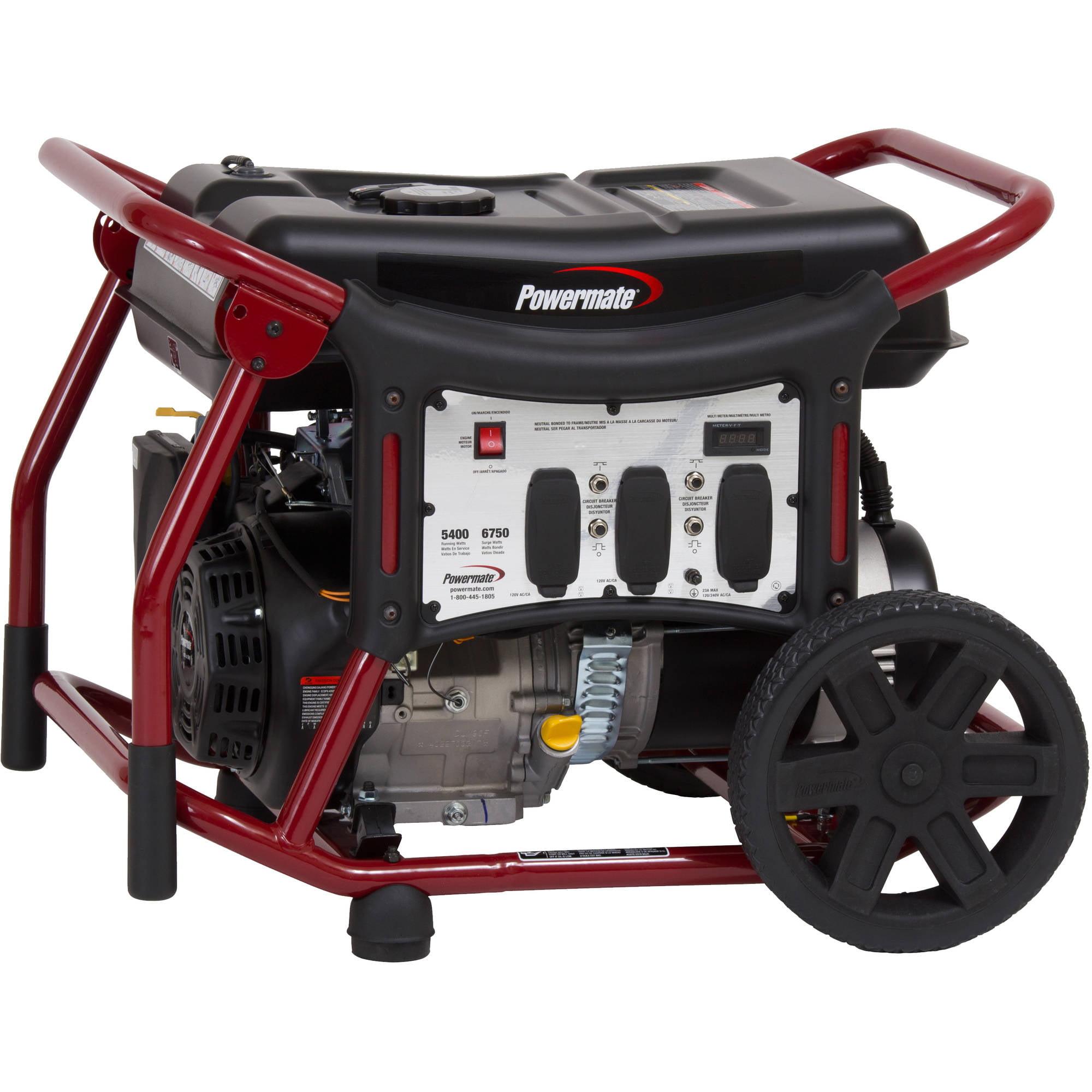 Powermate Wx5400 Portable Generator