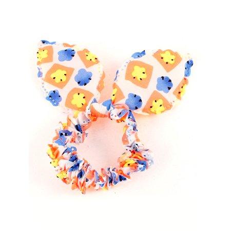 Colorful imitated rabbit Ear Shaped Elastic Band Hair Tie Ponytail Holder