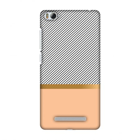 Xiaomi Mi 4i Case, Premium Handcrafted Designer Hard Shell Snap On Case Printed Back Cover with Screen Cleaning Kit for Xiaomi Mi 4i, Slim, Protective - Stripe Away