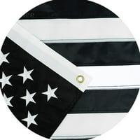 Jetlifee Black and White American Flag