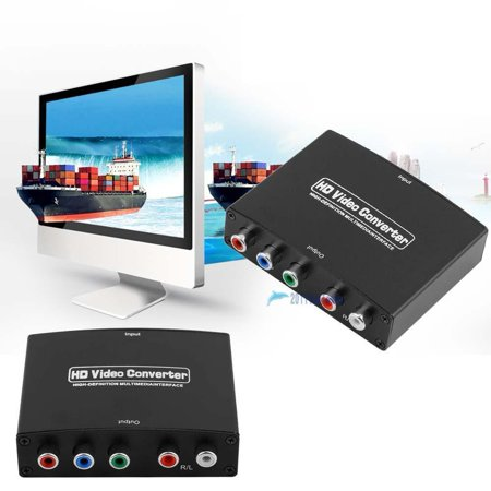 Digital Tv Converters Boxes  Hdmi To Rgb Component  Ypbpr  Video  R L Audio Adapter Tv Hd Video Converter