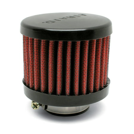 Airaid Rubber Top 1.5in ID - Clamp On 3in OD 2.5in Tall Breather Filter