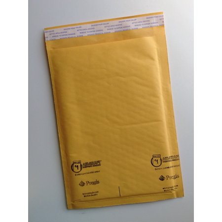 Airkraft Bubble - AIR-KRAFT Air-Cushioned / Kraft Self-Seal Bubble Mailers, Size 1 (78131), 7-1/4