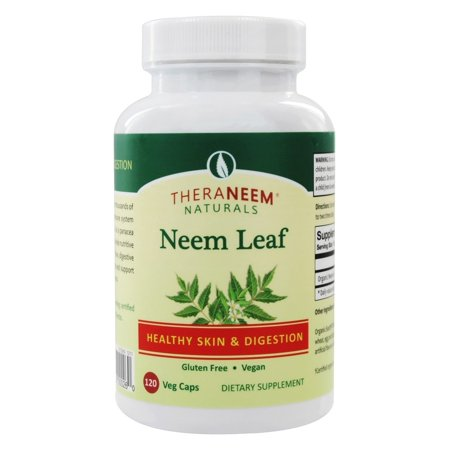 Organix South - Neem Leaf Healthy Skin & Digestion - 120 Vegetarian Capsules