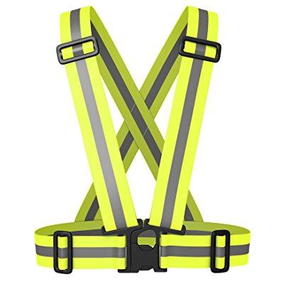 Best Reflective Safety Vest for Running, Cycling, Working in Low Light Top Reflective Running Gear by