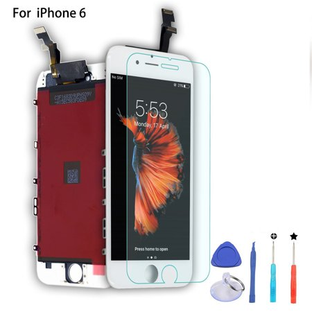 iPhone 6 Screen Replacement LCD Display Touch Screen Digitizer Frame Assembly Full Set for iPhone 6 4.7