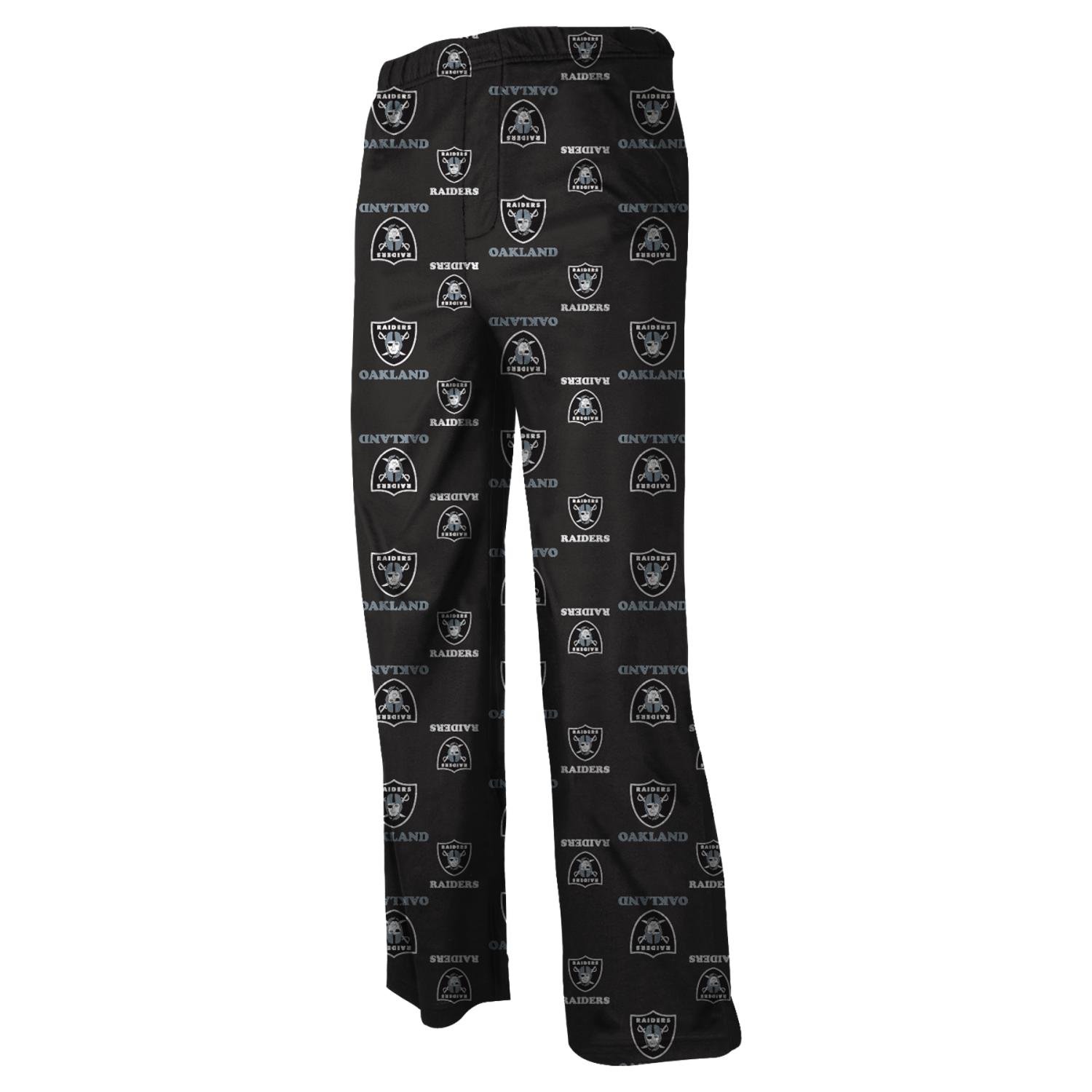 Oakland Raiders Youth NFL Logo Pajama Pants by Outerstuff