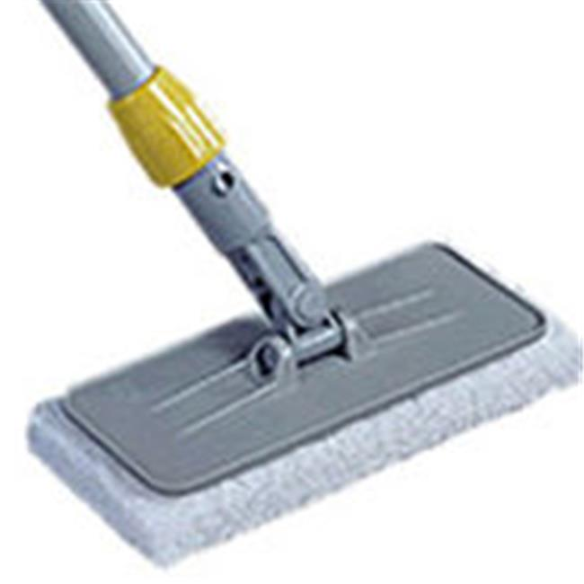 Rubbermaid Commercial Products Q311 Upright Plastic Scrubber Pad Holder - Gray