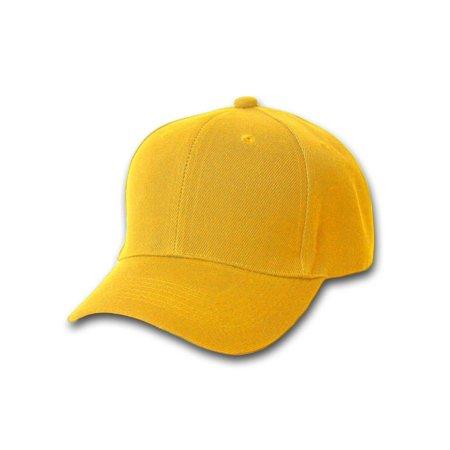 d289d78d735 Magic - 12 Baseball Caps Wholesale- Gold Yellow - Walmart.com