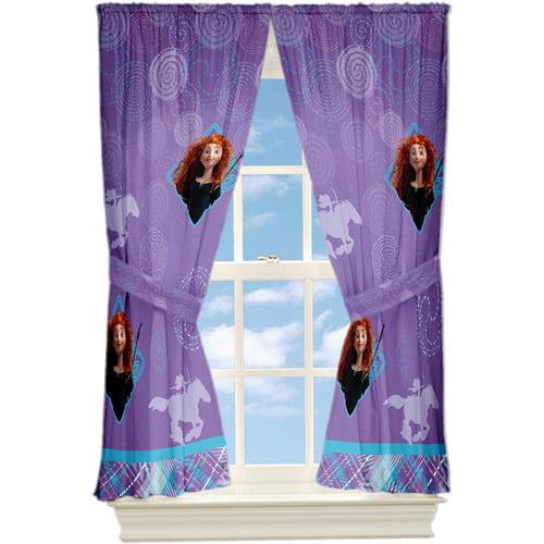 Disney's Brave Microfiber Window Curtain Panel, Set of 2