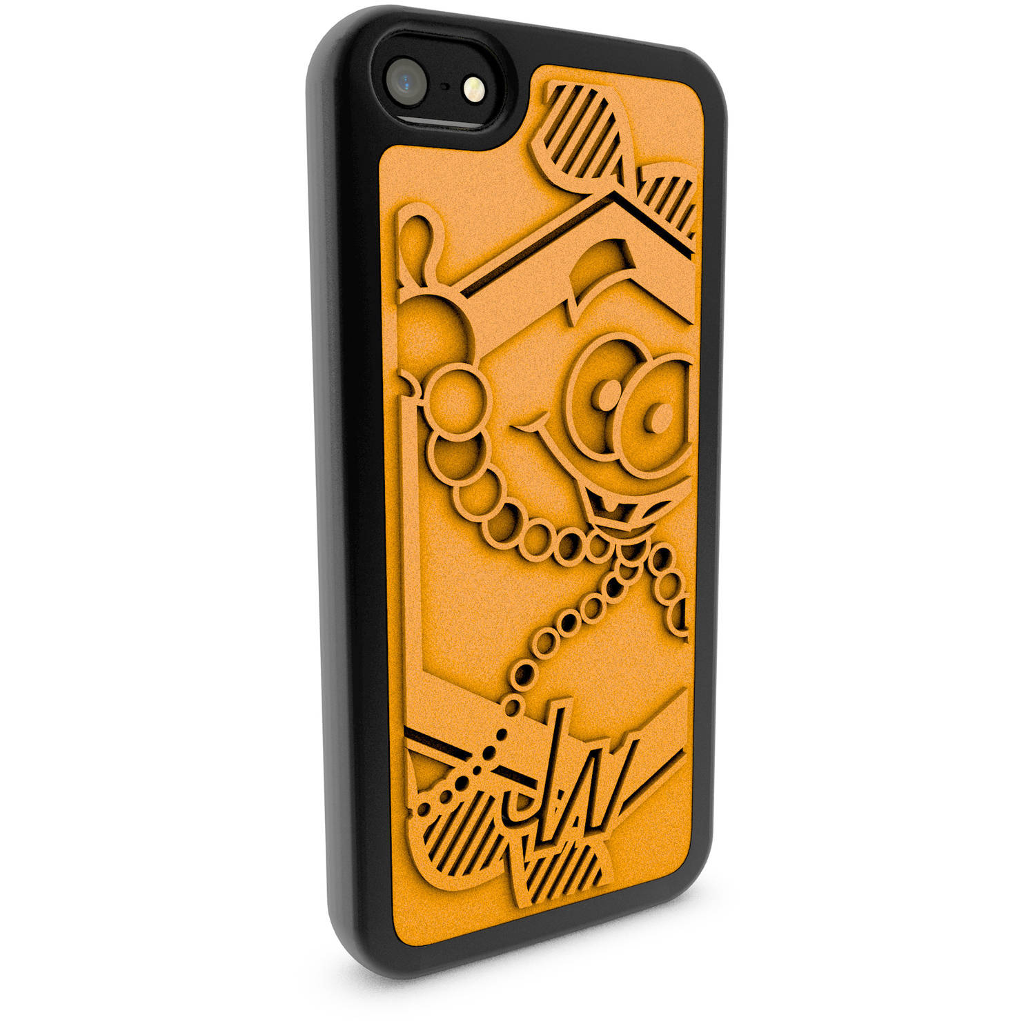 Apple iPhone 5 and 5S 3D Printed Custom Phone Case - Jurassic World - Mr. DNA