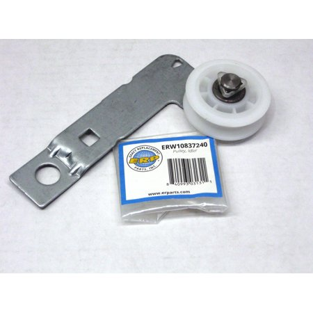 Dryer Idler Bracket Pulley for W10837240 Whirlpool AP5988716 PS11726337